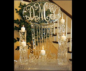 Wedding Ice Sculptures created by Ice Miracles - Long Island, New York, LI, NY